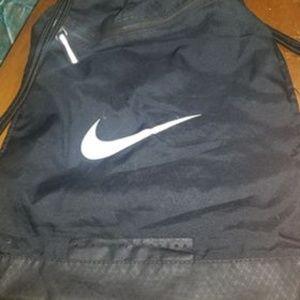 Black Nike Drawstring Bag.